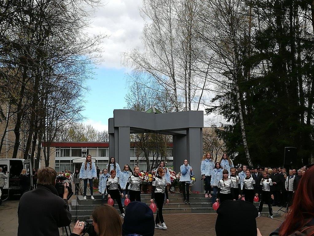 Митинг-реквием памяти жертвам Чернобыльской трагедии
