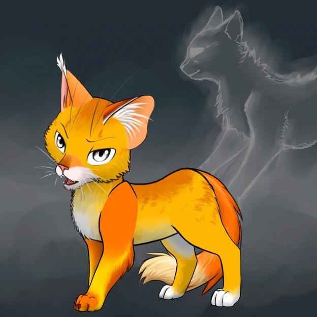 Ремейк книги Эрин Хантер «Коты-воители» создала могилевчанка